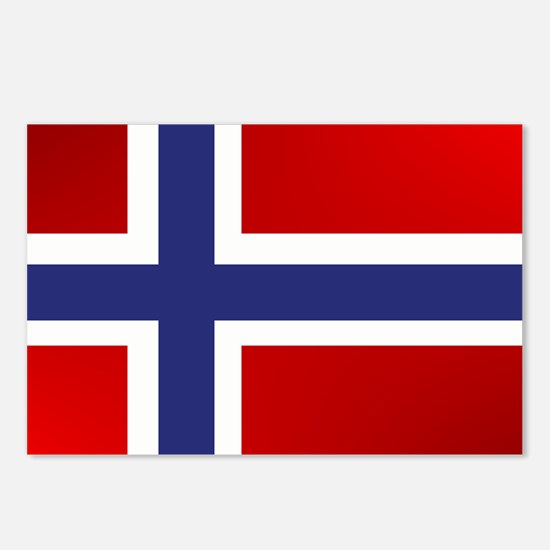Simply Norwegian Postcards (Package of 8)