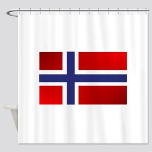 Simply Norwegian Shower Curtain