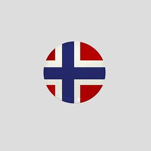 Simply Norwegian Mini Button