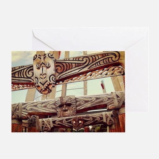 Cute Maori Greeting Card
