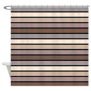 Gray And Tan Shower Curtains