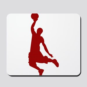 Basketball player Slam Dunk Silhouette Mousepad