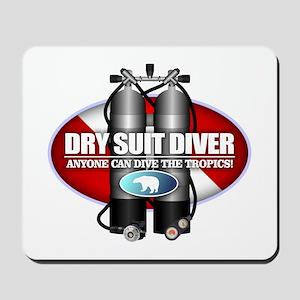 Dry Suit Diver (ST) Mousepad