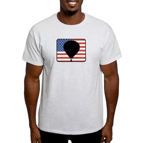 American Hot Air Balloon Light T-Shirt