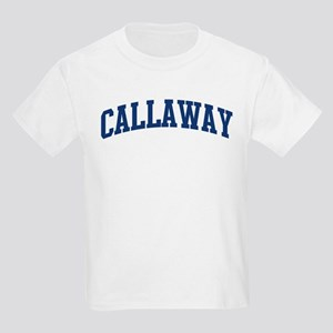 CALLAWAY design (blue) Kids Light T-Shirt