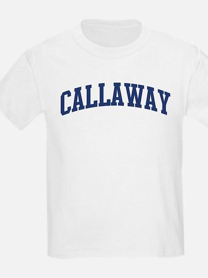 CALLAWAY design (blue) T-Shirt