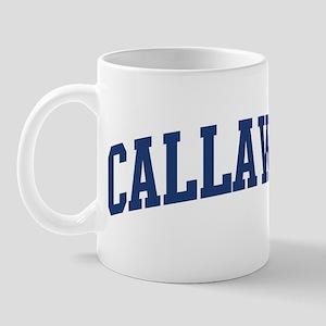 CALLAWAY design (blue) Mug