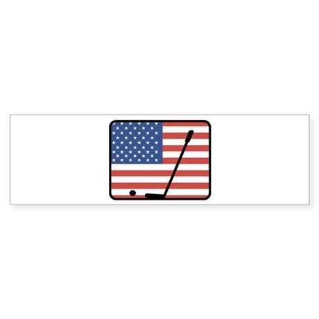 American Golf Bumper Sticker