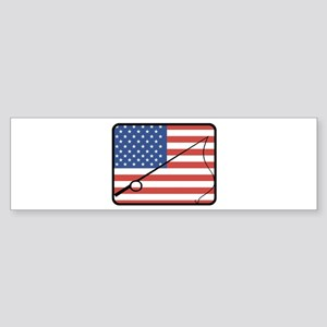 American Fishing Bumper Sticker