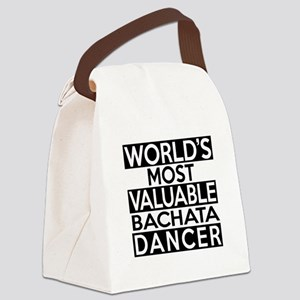 World's Most Valuable Bachata Dan Canvas Lunch Bag