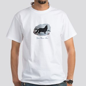Snowdusted Wolf White T-Shirt