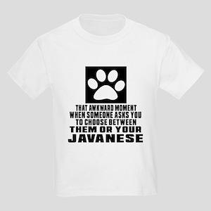 Awkward Korat Cat Designs Kids Light T-Shirt