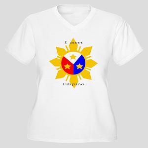 I am Filipino Plus Size T-Shirt