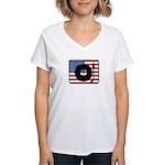 American DJ Women's V-Neck T-Shirt