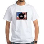 American DJ White T-Shirt