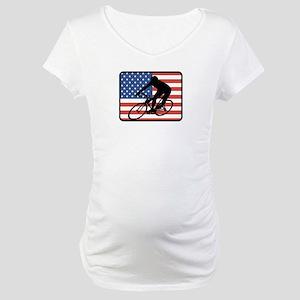 American Cycling Maternity T-Shirt