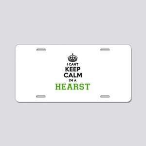 HEARST I cant keeep calm Aluminum License Plate