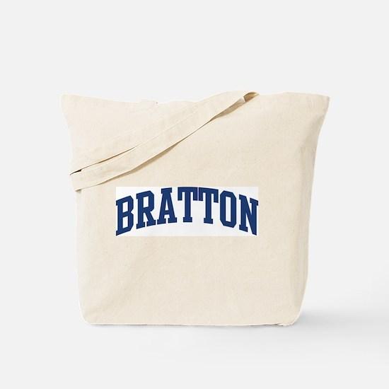 BRATTON design (blue) Tote Bag