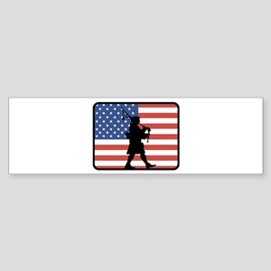 American Bagpipes Bumper Sticker