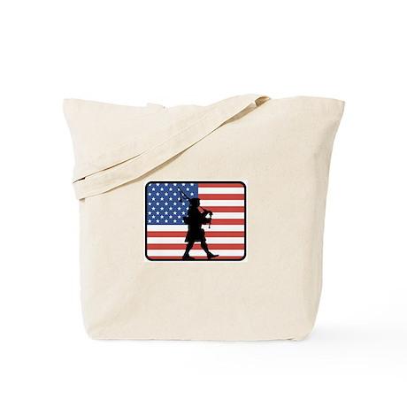 American Bagpipes Tote Bag