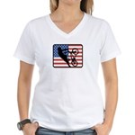American BMX Women's V-Neck T-Shirt