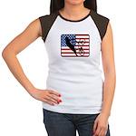 American BMX Women's Cap Sleeve T-Shirt