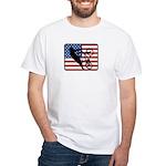 American BMX White T-Shirt