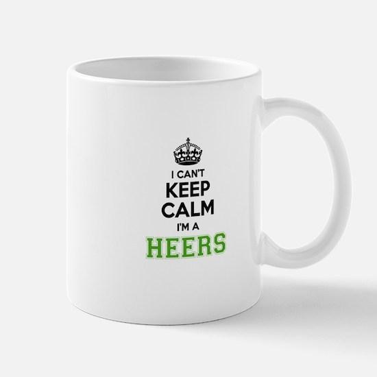 HEERS I cant keeep calm Mugs