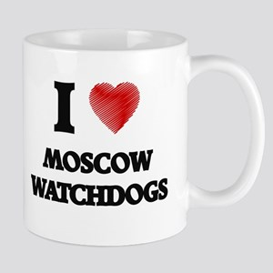 I love Moscow Watchdogs Mugs