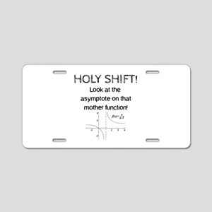 Holy Shift! Aluminum License Plate
