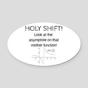 Holy Shift! Oval Car Magnet