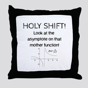 Holy Shift! Throw Pillow