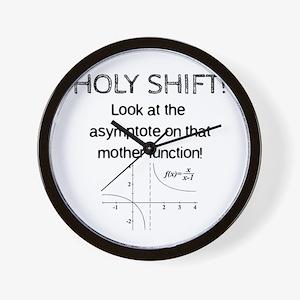 Holy Shift! Wall Clock