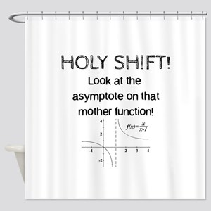 Holy Shift! Shower Curtain