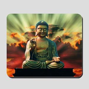 Buddha Sunrise Mousepad