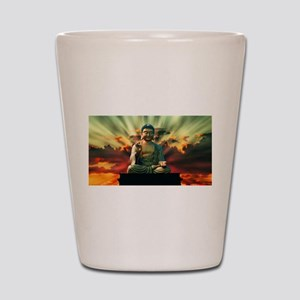 Buddha Sunrise Shot Glass