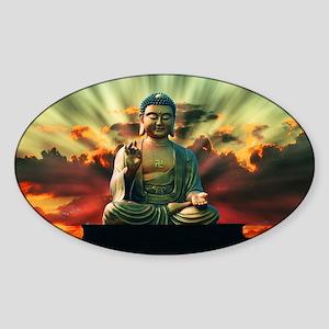 Buddha Sunrise Sticker