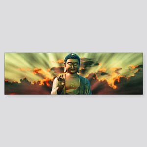 Buddha Sunrise Bumper Sticker