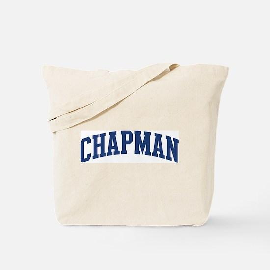 CHAPMAN design (blue) Tote Bag