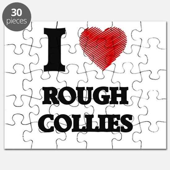 I love Rough Collies Puzzle