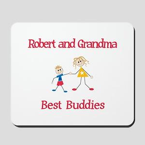 Robert & Grandma - Buddies Mousepad