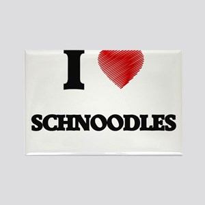 I love Schnoodles Magnets