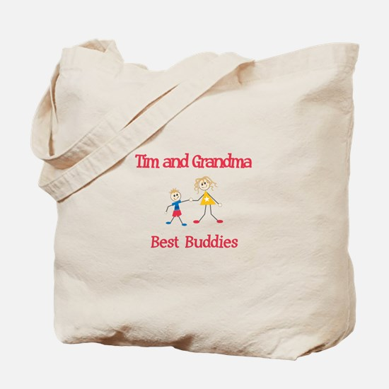 Tim & Grandma - Buddies Tote Bag