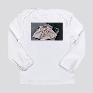 Floral Bow Skirt Long Sleeve T-Shirt