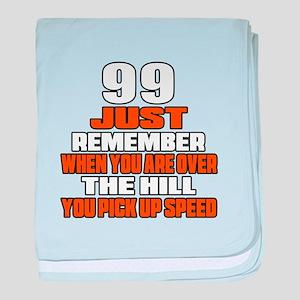 99 Just Remember Birthday Designs baby blanket