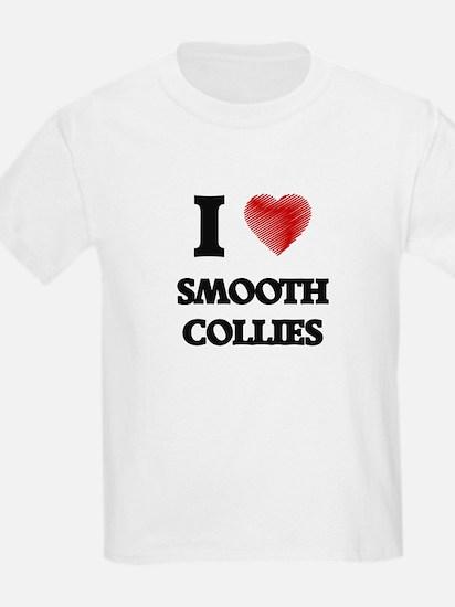 I love Smooth Collies T-Shirt