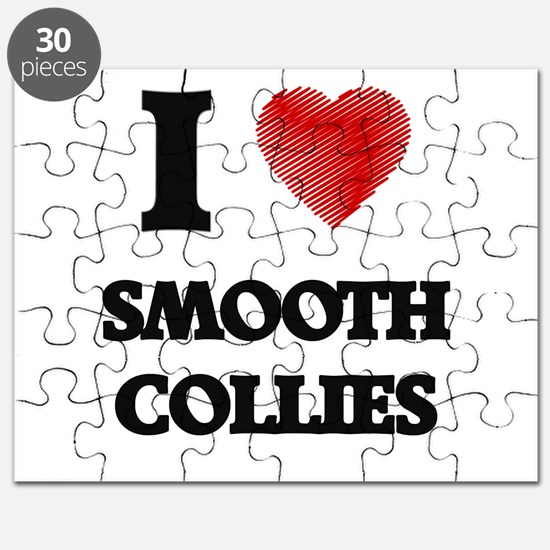 I love Smooth Collies Puzzle