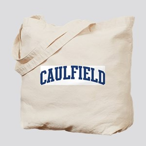 CAULFIELD design (blue) Tote Bag