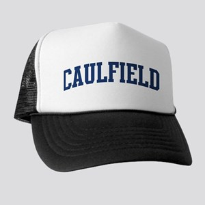 CAULFIELD design (blue) Trucker Hat