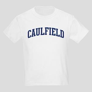 CAULFIELD design (blue) Kids Light T-Shirt